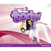 Today! Level 3 Class Audio CDs - Erika Stiles