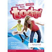 Imagine Today! Starter Level Student's Book With Myenglishlab - David Todd