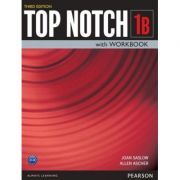Top Notch 3e Level 1 Student Book Workbook Split B - Joan Saslow