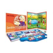 Exercitii de respiratie. Program educational distractiv, kit logopedic - Laura Hardalau