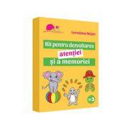 Kit pentru dezvoltarea atentiei si a memoriei - Loredana Bejan imagine librariadelfin.ro