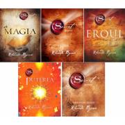 Pachet 5 volume - Secretul, Invataturi zilnice, Puterea, Eroul si Magia, autor Rhonda Byrne