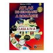 Atlas de geografie a Romaniei clasa a IV-a - Marius Lungu