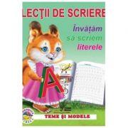 Lectii de scriere. Invatam sa scriem literele imagine librariadelfin.ro