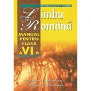 Limba romana, manual clasa VI - Anca Serban imagine librariadelfin.ro