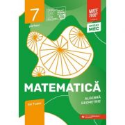 Matematica. Algebra, geometrie. Caiet de lucru. Clasa a VII-a. Initiere. Partea I - Ion Tudor imagine librariadelfin.ro