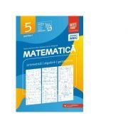 Matematica. Aritmetica, algebra, geometrie. Clasa a V-a. Consolidare. Partea I - Maria Zaharia, Sorin Peligrad, Dan Zaharia imagine librariadelfin.ro