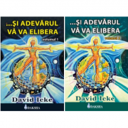 Pachet Si adevarul va va elibera volumele 1 si 2, autor David Icke