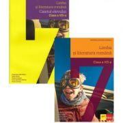 Pachet Limba si literatura romana pentru clasa a 7-a manual si caiet, autor Florentina Samihaian imagine librariadelfin.ro