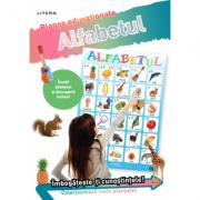 Alfabetul. Planse educationale imagine librariadelfin.ro