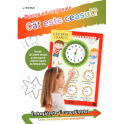 Cat este ceasul? Planse educationale imagine librariadelfin.ro