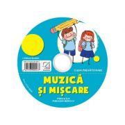 CD audio Muzica si miscare – caiet de lucru pentru clasa pregatitoare imagine librariadelfin.ro