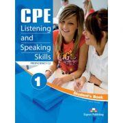 Curs limba engleza CPE Listening & Speaking Skills 1 Student's Book with Digibooks App - Virginia Evans, Jenny Dooley
