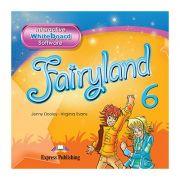 Curs limba engleza Fairyland 6 Soft pentru tabla interactiva - Jenny Dooley, Virginia Evans