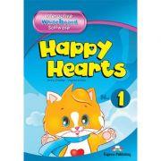 Curs limba engleza Happy Hearts 1 Software pentru tabla interactiva - Jenny Dooley, Virginia Evans