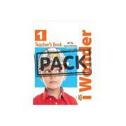 Curs limba engleza iWonder 1 Manualul Profesorului cu postere - Jenny Dooley, Bob Obee