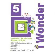 Curs limba engleza iWonder 5 Material multimedia pentru profesori set 5 CD - Jenny Dooley, Bob Obee