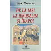 De la Iasi la Ierusalim si inapoi - Leon Volovici