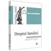 Dreptul familiei. Manual de seminar - Ciprian Raul Romitan imagine librariadelfin.ro