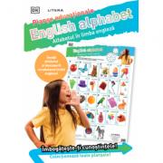 English Alphabet. Alfabetul in limba engleza. Planse educaționale imagine librariadelfin.ro