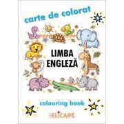 Limba engleza. Carte de colorat imagine librariadelfin.ro