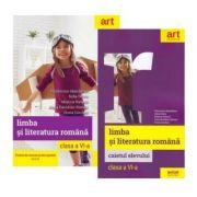 Pachet Limba si literatura romana pentru clasa a VI-a manual si caiet - Florentina Samihaian imagine librariadelfin.ro