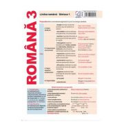 Plansa Romana 3. Limba romana: Sintaxa 1 imagine librariadelfin.ro