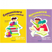 Set Caiete de lucru - Comunicare in limba romana si Matematica si explorarea mediului pentru clasa a II-a, autor Marilena Nedelcu, Mirela Ilie si Gheo