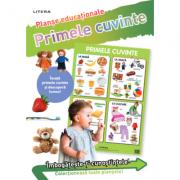 Primele cuvinte. Planse educationale imagine librariadelfin.ro