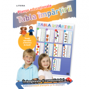 Tabla impartirii. Planse educationale imagine librariadelfin.ro