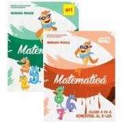 Set Matematica. Manual pentru clasa a IV-a, semestrele I si II, autor Mariana Mogos, editura Art Grup Educational imagine librariadelfin.ro