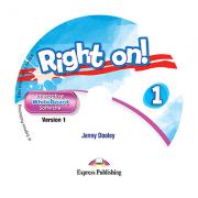 Curs limba engleza Right On 1 Soft pentru Tabla Interactiva - Jenny Dooley