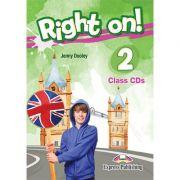 Curs limba engleza Right On 2 Audio Set 3 CD - Jenny Dooley