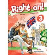 Curs limba engleza Right On 3 Manual - Jenny Dooley