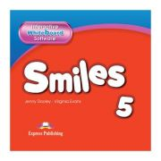 Curs limba engleza Smiles 5 Soft pentru Tabla Interactiva - Jenny Dooley, Virginia Evans