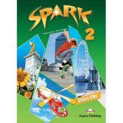 Curs limba engleza Spark 2 Monstertrackers Audio CD - Virginia Evans, Jenny Dooley