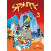 Curs limba engleza Spark 3 Monstertrackers Audio Set 4 CD - Virginia Evans, Jenny Dooley