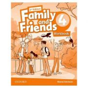 Family and Friends. Level 4. Workbook - Naomi Simmons