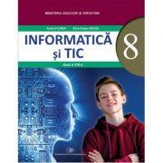 Informatica si TIC. Manual pt clasa a 8-a - Andrei Florea, Silviu-Eugen Sacuiu imagine librariadelfin.ro