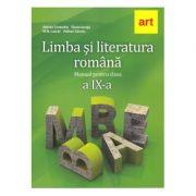 Manual Limba si literatura romana clasa 9-a - Adrian Costache imagine librariadelfin.ro