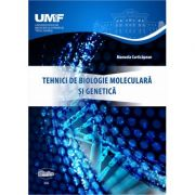 Tehnici de biologie moleculara si genetica (alb-negru) - Manuela Curticapean imagine libraria delfin 2021