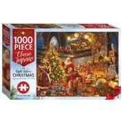 Christmas 1000-Piece Jigsaw. The Night Before Christmas imagine librariadelfin.ro