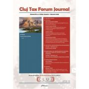 Cluj Tax Forum Journal 1/2020 - Cosmin Flavius Costas imagine librariadelfin.ro