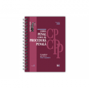 Codul penal si Codul de procedura penala Octombrie 2020 - EDITIE SPIRALATA, tiparita pe hartie alba - Dan Lupascu imagine librariadelfin.ro