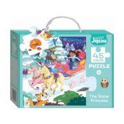 Junior Jigsaw Small. The Snow Princess (Series 3) imagine librariadelfin.ro