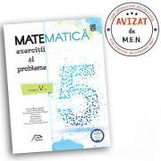 Matematica 2020 - Exercitii si probleme pentru clasa a V-a - AVIZAT - conform cu noua programa - valabil pentru oricare dintre manualele aprobate de M imagine librariadelfin.ro