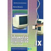 Manual informatica, clasa a IX-a Real Intensiv C++ - Mariana Milosescu imagine librariadelfin.ro