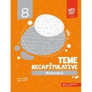 Matematica. Teme recapitulative. Clasa a VIII-a - Anton Negrila, Maria Negrila imagine librariadelfin.ro