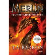 Imagine Merlin - Focuri Mistuitoare - Cartea A Iii-a - T - A - Barron