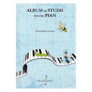 Album de studii pentru pian Vol. 2 - Carl Czerny, Stephen Heller, Antoine-Henry Lemoine imagine librariadelfin.ro